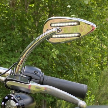 LED Motorcycle Mirrors for Indian® Motorcycles