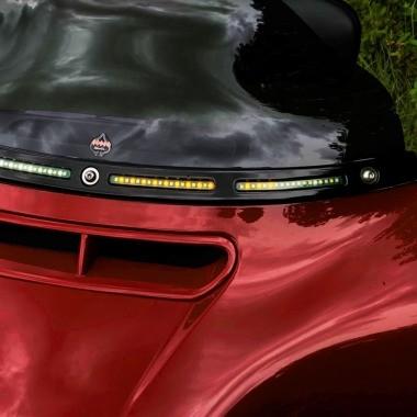Harley-Davidson® Windshield & Fairing LED Turn Signals