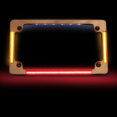 Kawasaki LED License Plate Frames