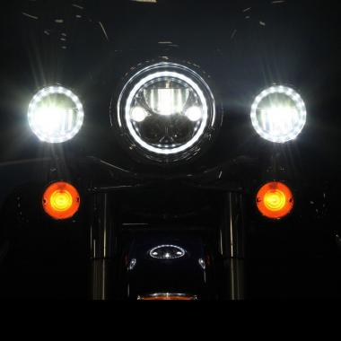 TruBEAM® LED Motorcycle Passing Lamps