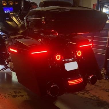 Low Profile LED Saddlebag Lights