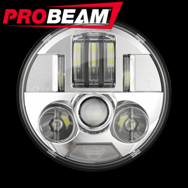 ProBEAM® Motorcycle LED Headlamps & Passing Lamps