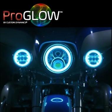 ProGLOW™ Headlamps & Passing Lamps for Harley-Davidson®