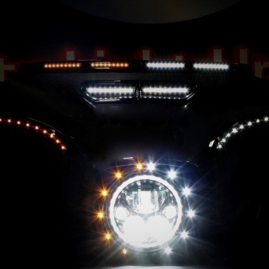 Harley-Davidson® Windshield & Fairing LED Turn Signals