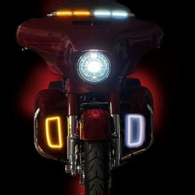 H-D™ LED Headlamps, Passing Lamps & Auxiliary Lights