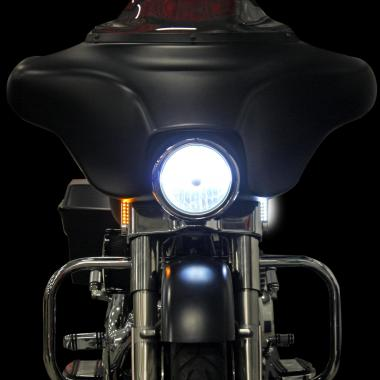 dynamicst harley davidson led turn signals by custom dynamics Basic Turn Signal Wiring Diagram at n-0.co