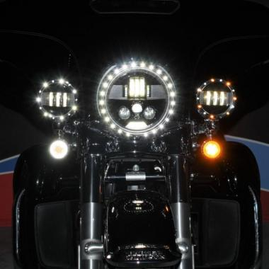 Headlamp & Passing Lamp LED Trim Rings
