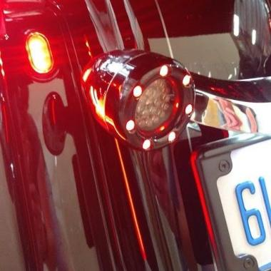 Bullet Ringz™ Rear LED Turn Signals