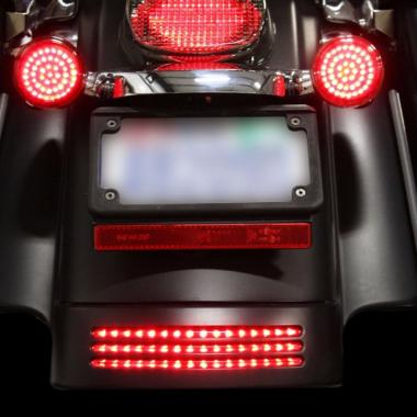 Run/Brake LED TriBar & Fender Tips for HD™ Motorcycles