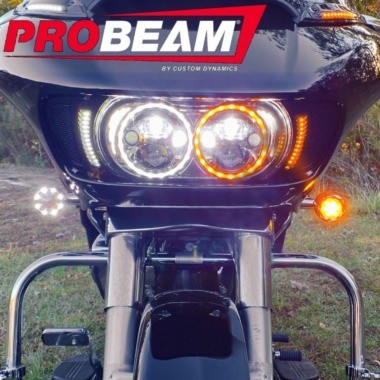 ProBEAM® Bullet Ringz™ LED Turn Signals for Harley-Davidson®