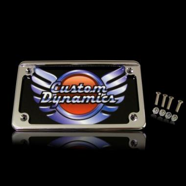 Standard Motorcycle Illuminated Plate Frames