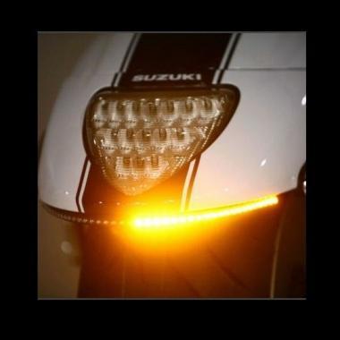 Suzuki M109 LED Turn Signal Arrays