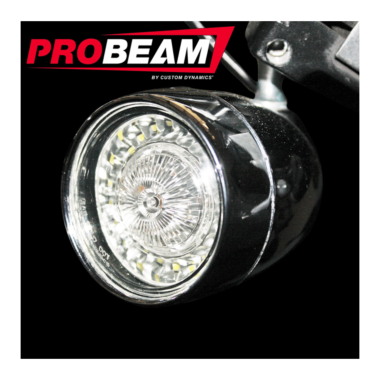 ProBEAM® Front Bullet Bezel Turn Signals for Harley-Davidson®