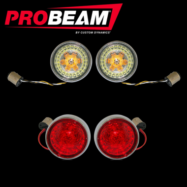 ProBEAM® Bullet Bezel Turn Signal Kits for Harley-Davidson®