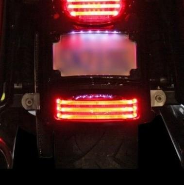 Rear LED Motorcycle Fender Tip Lights