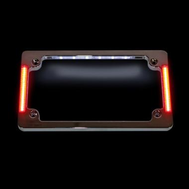 Horizontal Plate Frames with Auxiliary Lighting