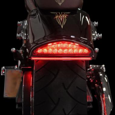 Motorcycle Fender LED Taillights