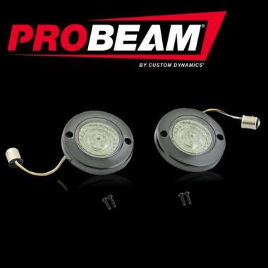 ProBEAM® Front Flat Bezel Turn Signals for Harley-Davidson®