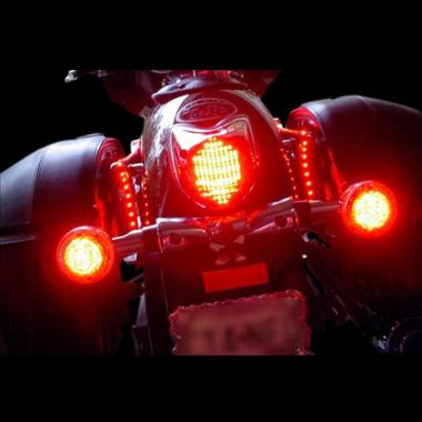 in addition D Harley Fatboy Black And Chrome Extras Img further D The Fxdl Idiot Light Relocation Part Dash With Led Button Head Bolts Web together with A likewise Trkuryhdtail. on harley led turn signal lights