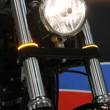 Fork Wrap Around LED Harley-Davidson® Turn Signals