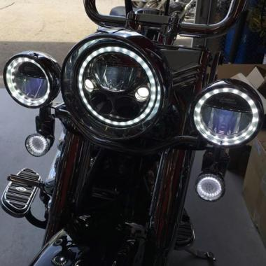 TruBEAM LED Motorcycle Passing Lamps