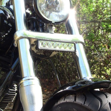 LED Auxiliary Driving Light Bar for Dyna, Softail & Sportster