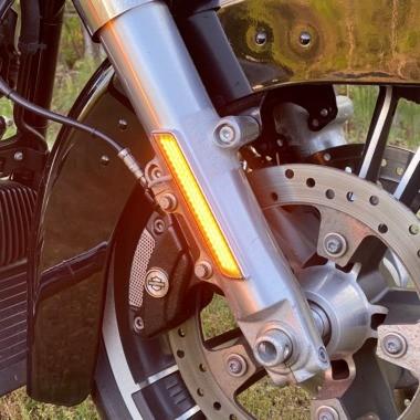 LED Front Fork Lightz™ for Harley-Davidson® Motorcycles