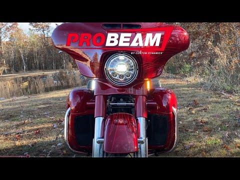 ProBEAM Dynamic Strips LED Front Turn Signals for H-D FLHX & FLHT