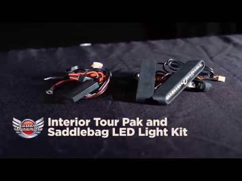 Interior Tour Pak & Saddlebag LED Light Kits from Custom Dynamics®