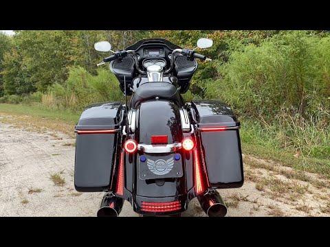 Sequential Low Profile BAGZ Saddlebag LED Lights for Harley Davidson