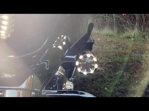 ProBEAM Amber/White Bullet Ringz for Harley Davidson Motorcycles