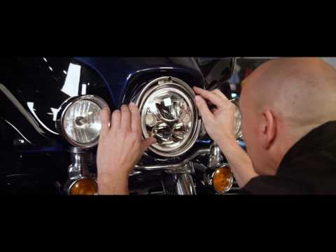 Custom Dynamics TruBeam LED Head Lamp Installation