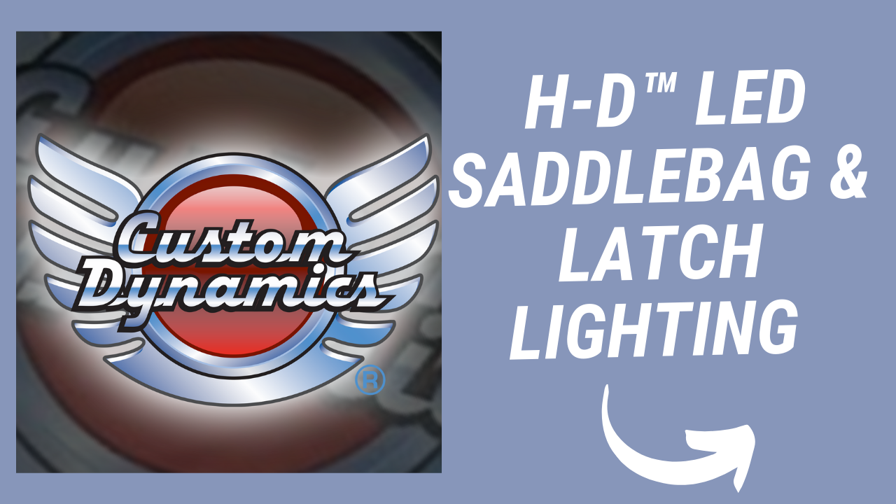 H-D™ LED SADDLEBAG & LATCH LIGHTING