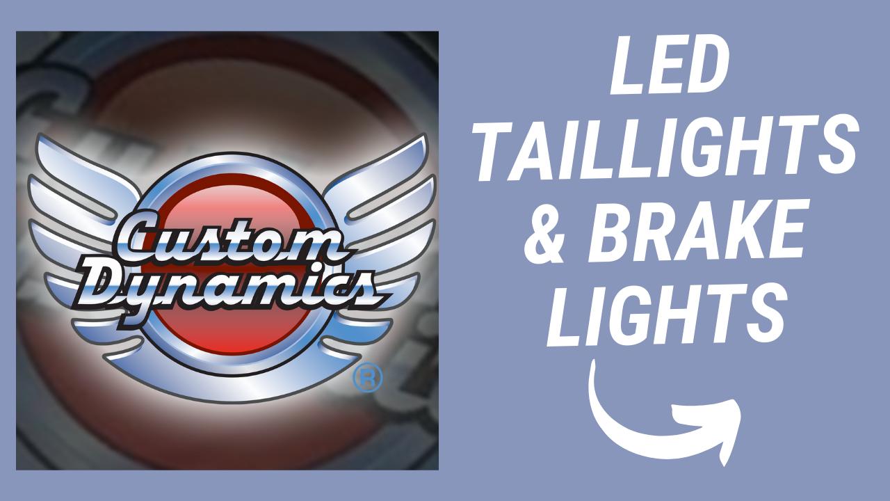 LED TAILLIGHTS & BRAKE LIGHTS