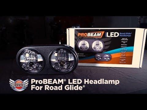 ProBEAM® LED Headlamp for Harley Davidson® Road Glide Models