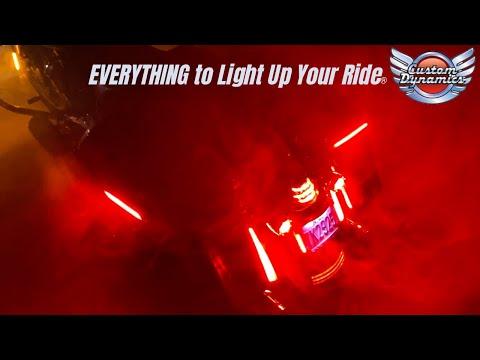 Custom Dynamics Motorcycle LED Lighting for Harley Davidson: Spring 2020