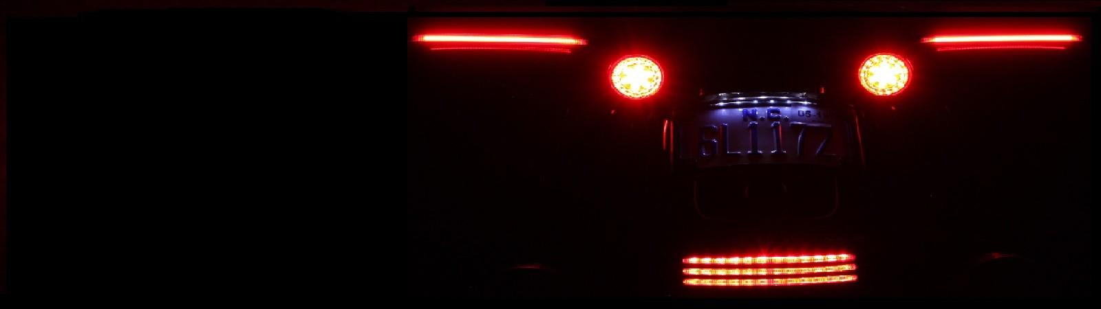 Custom Dynamics Motorcycle LED Lighting