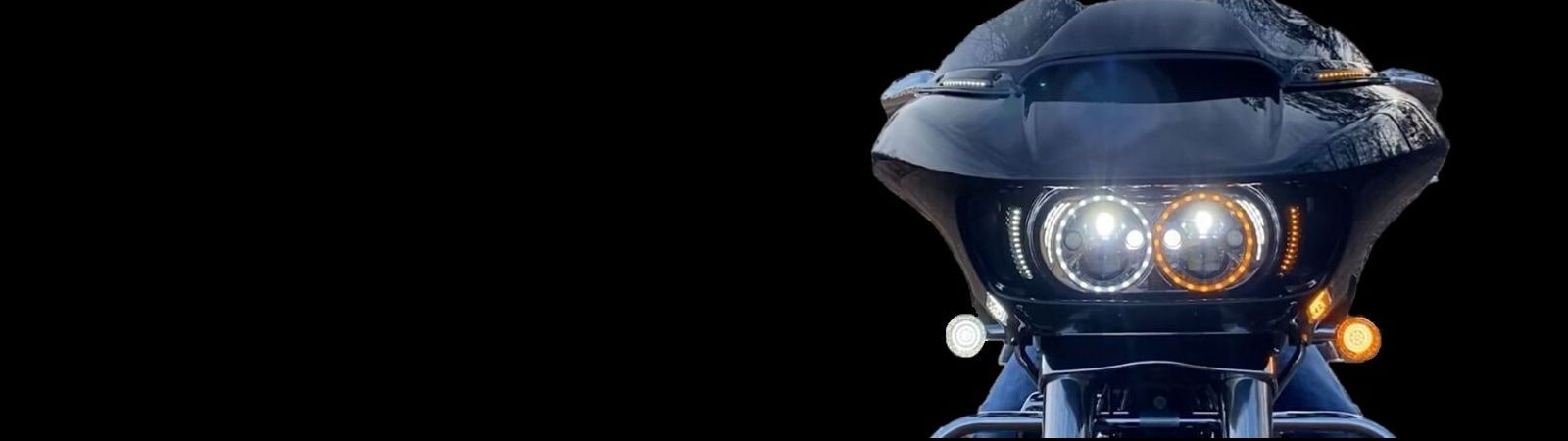 Motorcycle LED Windshield & Fairing Lights