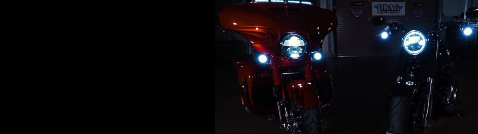 Motorcycle LED Headlamps & Passing Lamps